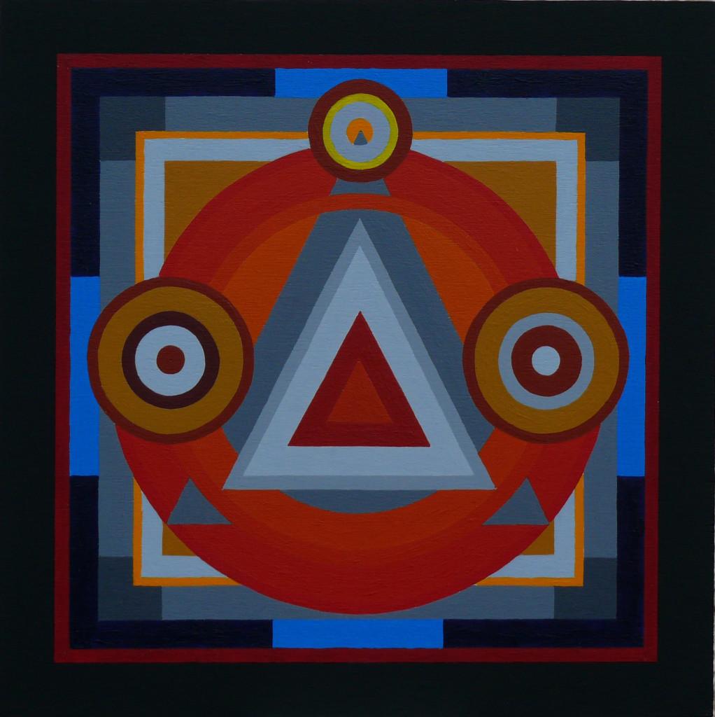 Acrilico extrafine su tavola / 25 x 25 cm / 2015